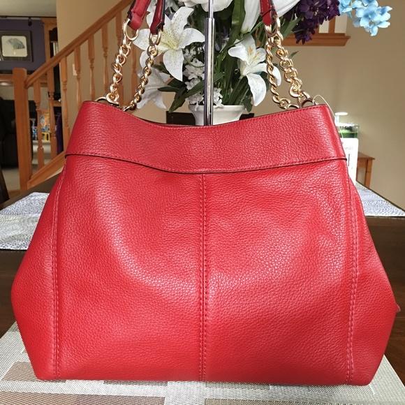 630a522924a Coach Dark Red Lexy Chain Shoulder Bag   Wallet